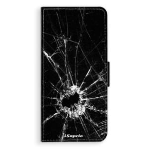 Flipové pouzdro iSaprio Broken Glass 10 na mobil Huawei Nova 3i