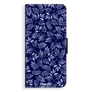 Flipové pouzdro iSaprio Blue Leaves 05 na mobil Huawei Nova 3i