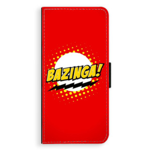 Flipové pouzdro iSaprio Bazinga 01 na mobil Huawei Nova 3i