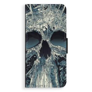 Flipové pouzdro iSaprio Abstract Skull na mobil Huawei Nova 3i