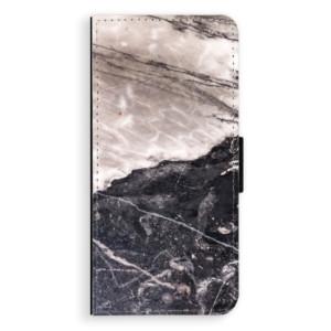 Flipové pouzdro iSaprio BW Mramor na mobil Huawei Nova 3i