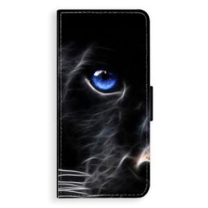 Flipové pouzdro iSaprio Black Puma na mobil Huawei Nova 3i