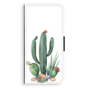 Flipové pouzdro iSaprio Kaktusy 02 na mobil Huawei Nova 3i