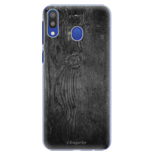 Plastové pouzdro iSaprio Black Wood 13 na mobil Samsung Galaxy M20