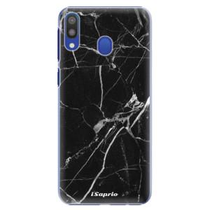 Plastové pouzdro iSaprio Black Marble 18 na mobil Samsung Galaxy M20