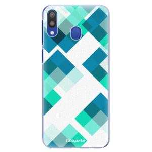 Plastové pouzdro iSaprio Abstract Squares 11 na mobil Samsung Galaxy M20