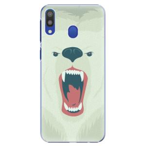 Plastové pouzdro iSaprio Naštvanej Medvěd na mobil Samsung Galaxy M20