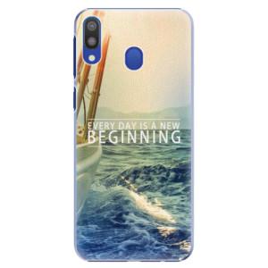 Plastové pouzdro iSaprio Beginning na mobil Samsung Galaxy M20