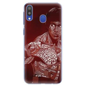 Plastové pouzdro iSaprio Bruce Lee na mobil Samsung Galaxy M20