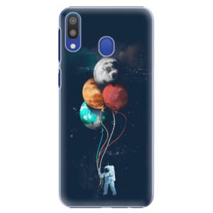 Plastové pouzdro iSaprio Balónky 02 na mobil Samsung Galaxy M20