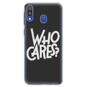 Plastové pouzdro iSaprio Who Cares na mobil Samsung Galaxy M20