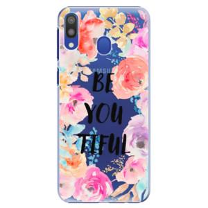 Plastové pouzdro iSaprio BeYouTiful na mobil Samsung Galaxy M20