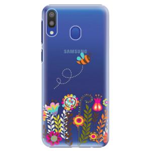 Plastové pouzdro iSaprio Včelka Pája 01 na mobil Samsung Galaxy M20