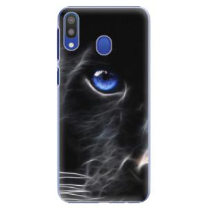 Plastové pouzdro iSaprio Black Puma na mobil Samsung Galaxy M20