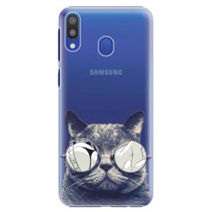 Plastové pouzdro iSaprio Šílená Číča 01 na mobil Samsung Galaxy M20