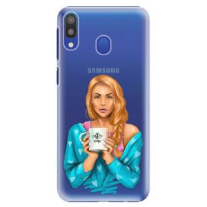 Plastové pouzdro iSaprio Coffee Now Zrzka na mobil Samsung Galaxy M20