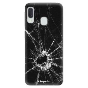 Plastové pouzdro iSaprio Broken Glass 10 na mobil Samsung Galaxy A20e