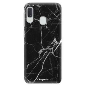Plastové pouzdro iSaprio Black Marble 18 na mobil Samsung Galaxy A20e