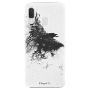 Plastové pouzdro iSaprio Havran 01 na mobil Samsung Galaxy A20e