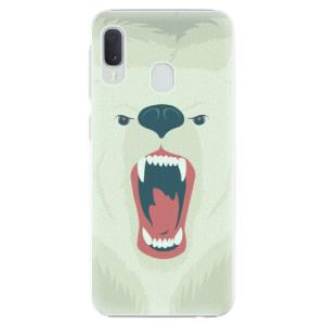Plastové pouzdro iSaprio Naštvanej Medvěd na mobil Samsung Galaxy A20e