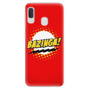 Plastové pouzdro iSaprio Bazinga 01 na mobil Samsung Galaxy A20e