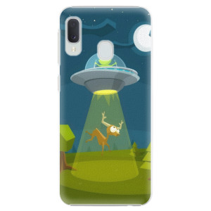 Plastové pouzdro iSaprio Ufouni 01 na mobil Samsung Galaxy A20e