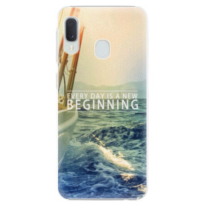 Plastové pouzdro iSaprio Beginning na mobil Samsung Galaxy A20e