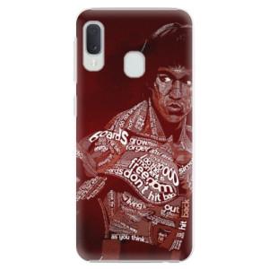 Plastové pouzdro iSaprio Bruce Lee na mobil Samsung Galaxy A20e