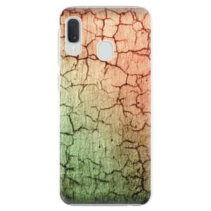 Plastové pouzdro iSaprio Rozpraskaná Zeď 01 na mobil Samsung Galaxy A20e
