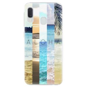 Plastové pouzdro iSaprio Aloha 02 na mobil Samsung Galaxy A20e