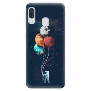 Plastové pouzdro iSaprio Balónky 02 na mobil Samsung Galaxy A20e