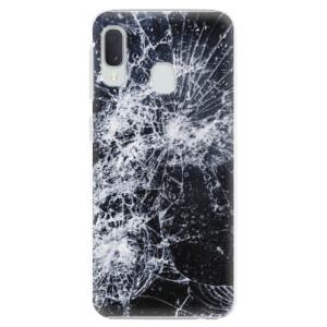 Plastové pouzdro iSaprio Praskliny na mobil Samsung Galaxy A20e