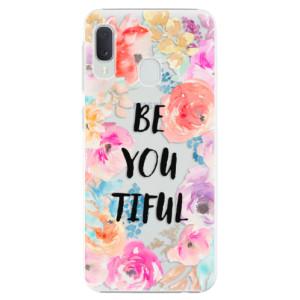 Plastové pouzdro iSaprio BeYouTiful na mobil Samsung Galaxy A20e