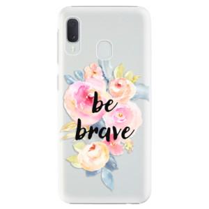 Plastové pouzdro iSaprio Be Brave na mobil Samsung Galaxy A20e