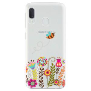 Plastové pouzdro iSaprio Včelka Pája 01 na mobil Samsung Galaxy A20e