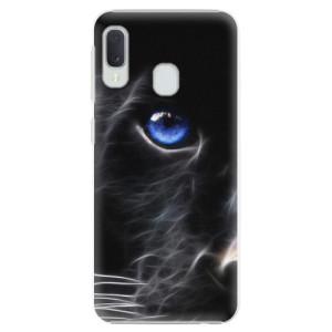 Plastové pouzdro iSaprio Black Puma na mobil Samsung Galaxy A20e