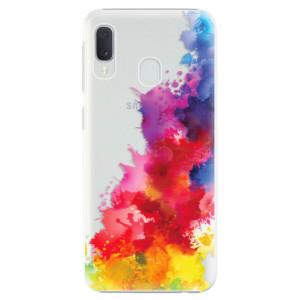 Plastové pouzdro iSaprio Color Splash 01 na mobil Samsung Galaxy A20e