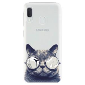 Plastové pouzdro iSaprio Šílená Číča 01 na mobil Samsung Galaxy A20e