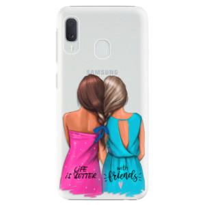Plastové pouzdro iSaprio Best Friends na mobil Samsung Galaxy A20e