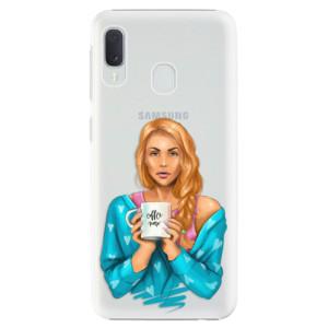 Plastové pouzdro iSaprio Coffee Now Zrzka na mobil Samsung Galaxy A20e