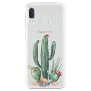 Plastové pouzdro iSaprio Kaktusy 02 na mobil Samsung Galaxy A20e