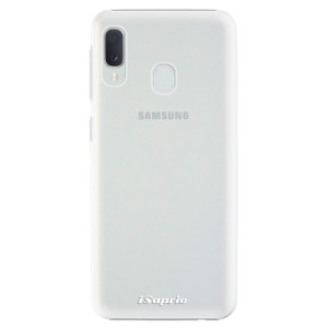 Plastové pouzdro iSaprio 4Pure mléčné bez potisku na mobil Samsung Galaxy A20e