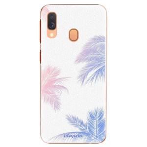 Plastové pouzdro iSaprio Palmy 10 na mobil Samsung Galaxy A40