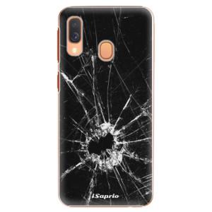 Plastové pouzdro iSaprio Broken Glass 10 na mobil Samsung Galaxy A40