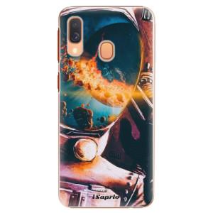 Plastové pouzdro iSaprio Astronaut 01 na mobil Samsung Galaxy A40