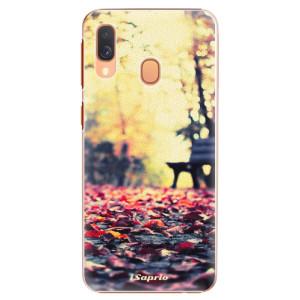 Plastové pouzdro iSaprio Bench 01 na mobil Samsung Galaxy A40