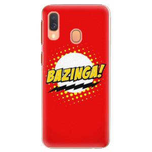 Plastové pouzdro iSaprio Bazinga 01 na mobil Samsung Galaxy A40