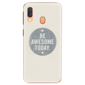 Plastové pouzdro iSaprio Awesome 02 na mobil Samsung Galaxy A40
