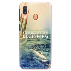 Plastové pouzdro iSaprio Beginning na mobil Samsung Galaxy A40