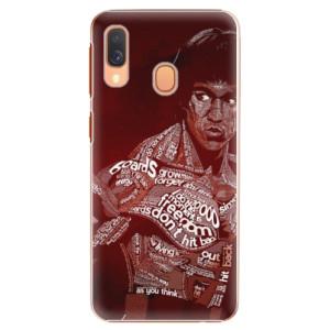 Plastové pouzdro iSaprio Bruce Lee na mobil Samsung Galaxy A40